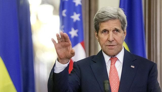 Керри: США по-прежнему настаивают наполном выполнении минских соглашений