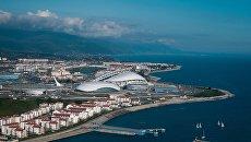 Вид на Олимпийский парк Сочи. Архивное фото