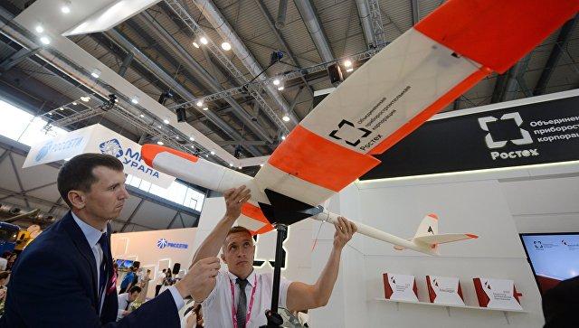 Беспилотный летательный аппарат ОПК. Архивное фото