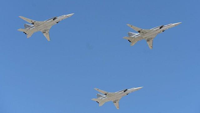 Российские Ту-22М3 выполнили полет над Баренцевым и Норвежским морями