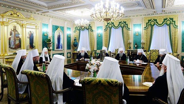 Экстренное заседание Священного синода РПЦ