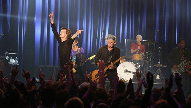 Концерт Rolling Stones. Архивное фото