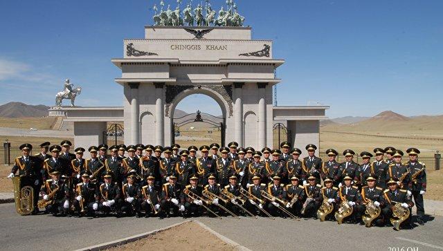 Центральный военный оркестр Вооруженных сил Монголии