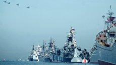 Корабли Черноморского флота РФ. Архивное фото