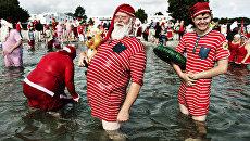 Всемирный съезд Санта-Клаусов в Копенгагене, Дания
