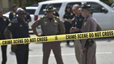 Сотрудники правоохранительных органов Флориды на месте стрельбы у ночного клуба Pulse