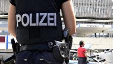 Полиция в ФРГ. Архивное фото