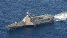 Корабль береговой охраны ВМС USS Coronado (LCS 4)