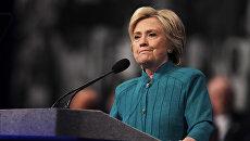 Кандидат в президенты США от Демократической партии Хиллари Клинтон в Неваде. Архивное фото