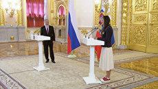 Проводы олимпийцев в Рио-де-Жанейро: напутствие Путина и слезы Исинбаевой