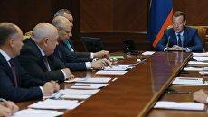 Дмитрий Медведев провел совещание о расходах федерального бюджета на 2017–2019 годы в части развития оборонной промышленности. 28 июля 2016