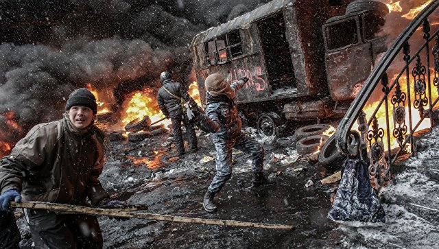 Экс-глава СБУ: «Майдан» хранил иготовил оружие вДоме профсоюзов