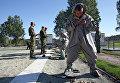 Военнослужащие сдают нормативы по РХБЗ