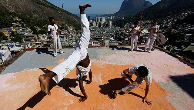 Капоэйра в Рио-де-Жанейро, Бразилия