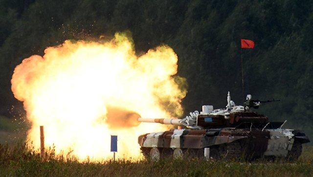 КомандаРФ одолела втретьем этапе конкурса «Мастер-оружейник» врамках АрМИ