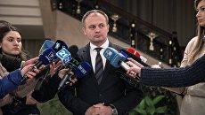 Председатель парламента Республики Молдова Андриан Канду. Архивное фото