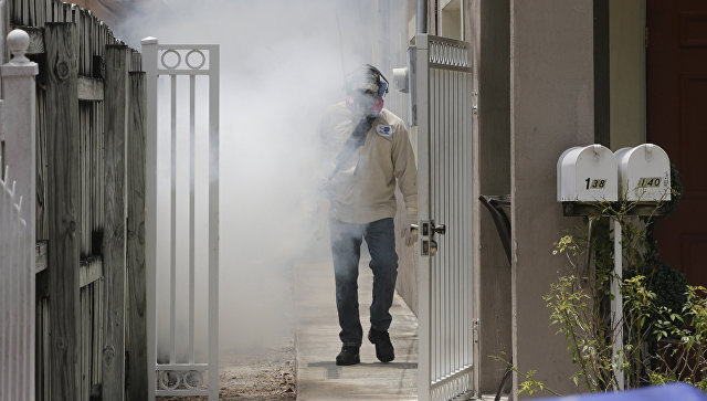 ВМайами-Бич впервый раз  отмечены случаи заражения вирусом Зика