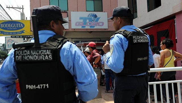 Полиция в Гондурасе. Архивное фото