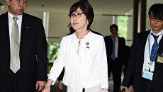 Министр обороны Японии Томоми Инада. Архивное фото