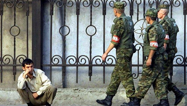 Российские военные в Таджикистане. Архивное фото