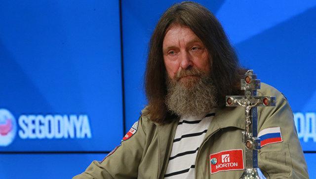 Пресс-конференция путешественника Федора Конюхова. Архивное фото