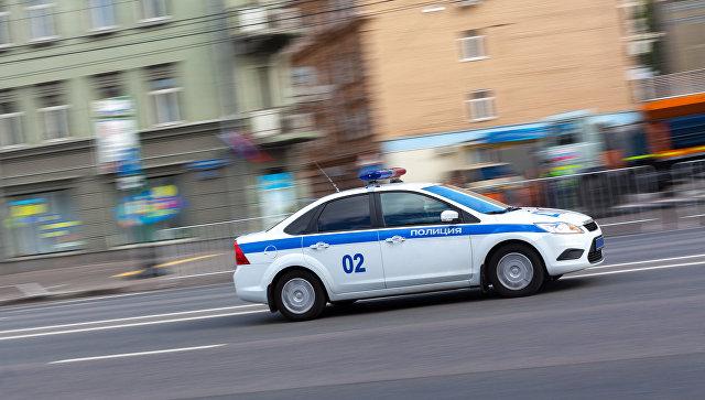 Полицейская машина. Архивное фото