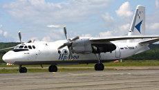 Самолет Ан-24Б авиакомпании ИрАэро. Архивное фото