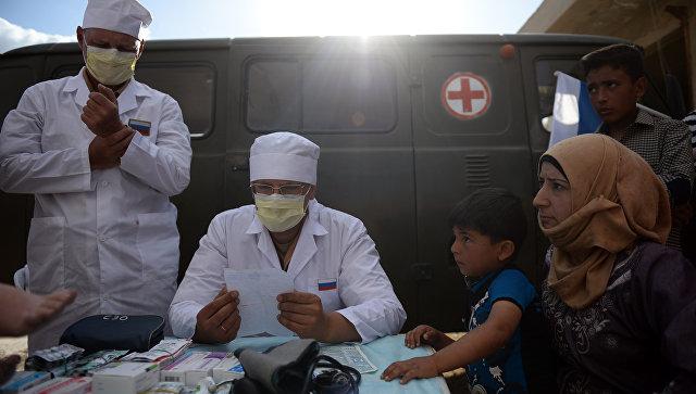 Военные медики возвращаются из Сирии в пункт постоянной дислокации