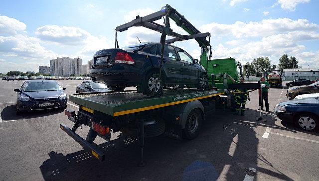 Водители могут забирать машины соштрафстоянки дооплаты штрафа