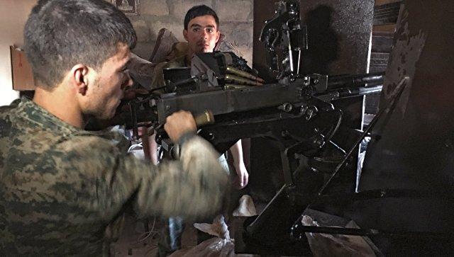 Боевики предприняли попытку перекрыть «дорогу жизни» вСирии