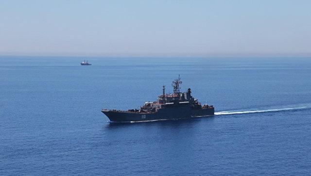 расположение российского флота в средиземном море онлайн
