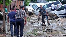 Последствия наводнения в Македонии. 7 августа 2016