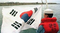 Офицер ВМС Южной Кореи. Архивное фото