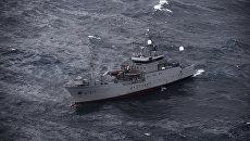 Корабль береговой охраны Норвегии. Архивное фото