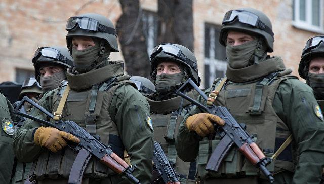Сотрудники Управления специальных операций Национального антикоррупционного бюро Украины (НАБУ)