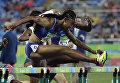 Американка Брианна Роллинс завоевала золотую медаль в беге на 100 метров с барьерами на Олимпиаде. 17 августа 2016 год