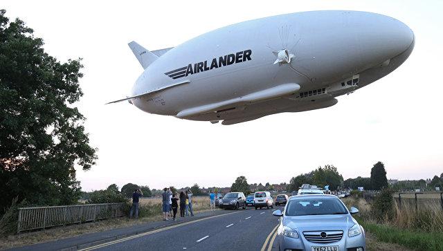Запуск воздушного судна Airlander 10. Архивное фото.