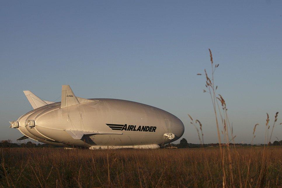 Наибольший дирижабль вмире совершил свой 1-ый полет