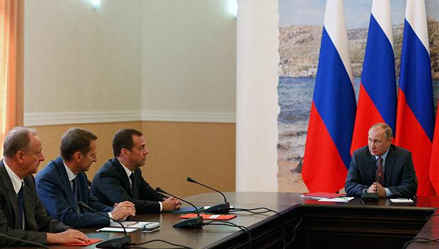 МИД Украины готовит ноту протеста из-за поездки Владимира Путина вКрым