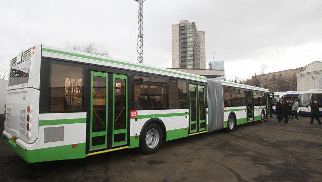 Секс в московском автобусе видео