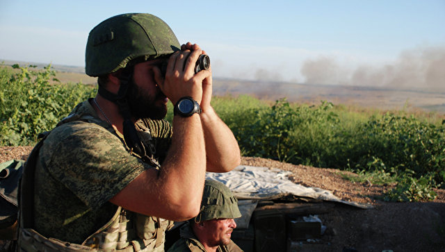 Бойцы ополчения ДНР, архивное фото