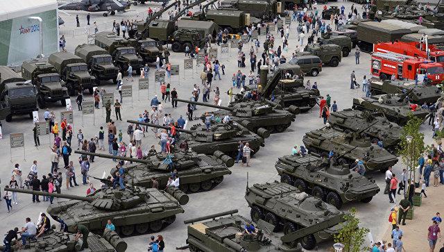 Международный военно-технический форум Армия-2015. Архивное фото