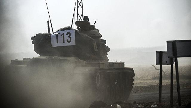 Турецкий «Щит Евфрата» для боевиков в Сирии