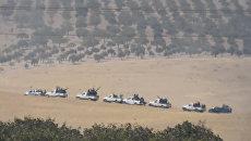 Сирийские бойцы оппозиции на границе Турции и Сирии. 24 августа 2016