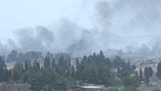 Операция Турции в Сирии: военная техника на границе и авиаудары