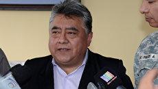 Заместитель главы МВД Боливии Родольфо Ийянес