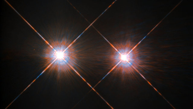 «Хаббл» сделал снимок Альфы Центавра