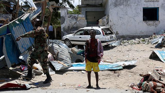 В итоге взрыва около президентского замка вСомали погибли 12 человек