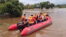 Ликвидация последствий циклона в Приморском крае. 1 сентября 2016