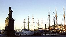 Яхты на приколе в заливе Осло-фьорд. Архивное фото